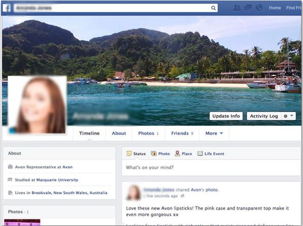Set up profiles in Facebook